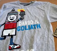 David Goliath Shirt Sz S London 2012 Tee Unisex Stupid Factory Cotton Blend