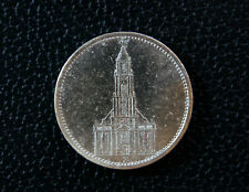 "5 RM 1935 ""A"" Garnisonskirche in Potsdam. Silber 900. ss"