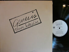 Genesis - Three Sides Live  (2 LP set) (Phil Collins)  (gatefold cover)  ('82)