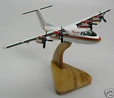 DHC-7 Ransome Airlines DHC7 Airplane Desktop Wood Model Free Shipping Regular