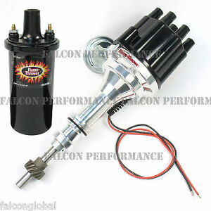 PerTronix Ignitor II/2 BILLET Flame-Thrower Distributor+Coil Ford SB 302/5.0