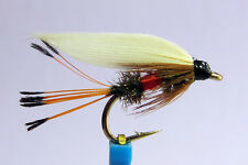 1x Mouche peche Noyee Royal Coachman H10/12 truite wet fly trout fishing mosca