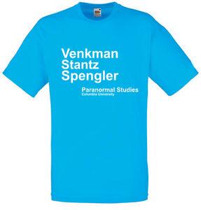 Venkman Stantz Spengler, Ghostbusters inspired Men's Printed T-Shirt