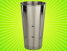 (twelve in lot) stainless steel 30 oz.malt cup ice cream Milkshake cups