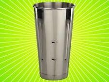 Twelve In Lot Stainless Steel 30 Ozmalt Cup Ice Cream Milkshake Cups