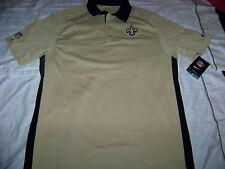 Nike Men's New Orleans Saints On Field Apparel DriFit Polo Shirt Nwt Small