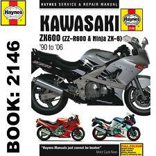 Kawasaki ZX600 ZZ R600 Ninja ZX6 1990 2006 Haynes Workshop Manual