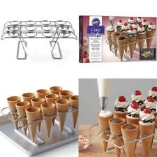 Wilton Cupcake Cones Baking Rack, 12-Cavity Ice Cream Cone Cupcakes Holder
