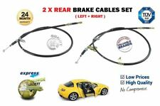 FOR MAZDA RX8 1.3 ROTARY 2008 > 2X REAR LEFT & RIGHT SIDE HAND BRAKE CABLE SET