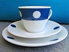 Seltmann Weiden Porcelain Trio Cora Polka dot design c 1960s -1970s