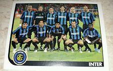 FIGURINA CALCIATORI PANINI 2005/06 INTER SQUADRA ALBUM 2006