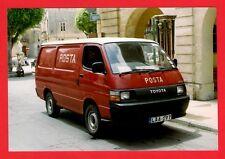 Malta Transport ~ Toyota Hiace Diesel Post Office Van LAA197 - Posta: Rabat 1998