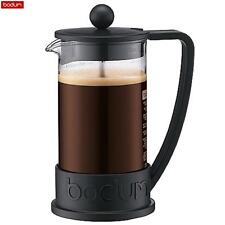 Bodum French Press Brazil Coffee Maker 3 Cup 0.35 L Black Espresso Kitchen New