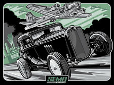 CHEMICAL CITY COUPE (SEMA '14 official design) silk screen print By Max Grundy