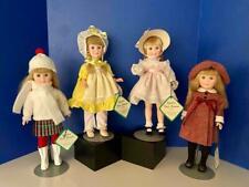 "Effanbee 15"" Four Seasons Dolls Winter, Spring, Summer, Autumn, 1981 Ex/Mint"