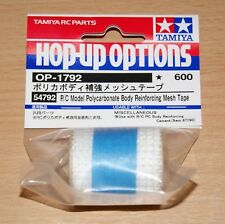 Tamiya 54792 R/C Model Polycarbonate Body Reinforcing Mesh Tape, NIP