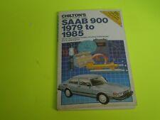 1979-1985 Saab 900 Shop Repair Manual Chilton'S (Fits: Saab 900)