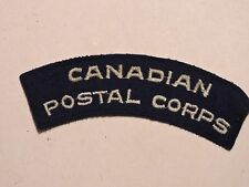 INSIGNE BADGE COMMONWEALTH CANADIAN POSTAL CORPS