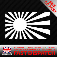 RISING SUN JAP JDM DRIFT HONDA DRIFT FUNNY CAR VAN SIGN DECAL VINYL STICKER