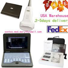 Portable laptop machine Convex probe Full Digital Ultrasound scanner CMS600P2 US