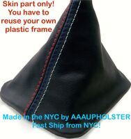 new Shift Boot no Plastic Frame PVC Leather For BMW E30 82-94 M3 Style Stitches