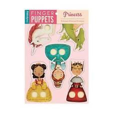 NEW Mudpuppy Princess Finger Puppets by Mudpuppy
