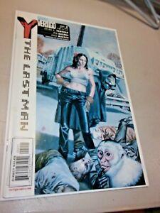 Y The Last Man #2 High Grade Rare Key Vertigo DC Comics 2002 Brian K Vaughan