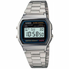 Casio A158WA-1DF Digital LED Light Watch