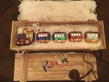 Polonaise Train Set Ornaments