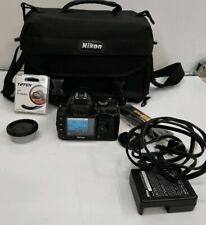 Nikon D40 Digital Camera - Black (Kit w/ AF-S DX ED G 18-55mm Lens) bag #F853