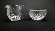 Waterford Crystal Mini Creamer And Open Sugar Bowl