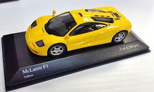 MINICHAMPS 1/43 1993 MCLAREN F1 GTR ROAD CAR YELLOW 530133436