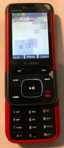 READ 1ST Nokia XpressMusic 5610 Red (T-Mobile) Cellular Phone Fast Ship NEW 2