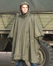 Poncho Militare VERDE Antipioggia Antistrappo 3 IN 1
