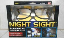 NIGHT SIGHT POLARIZED HD DRIVING GLASSES AS SEEN ON TV