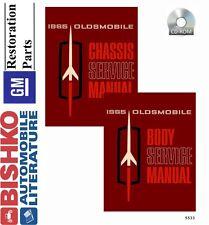 1965 Oldsmobile 442 F-85 Vista Cruiser Shop Service Repair Manual CD OEM Guide