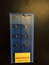 SUPER 10pcs 11IR 2.0ISO SMK01 CNC lathe Threading Turning   Carbide Inserts
