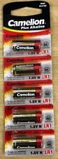 5 X Camelion Lr1 N Size 1.5v Extra Long Life Batteries Genuine Long Expiry
