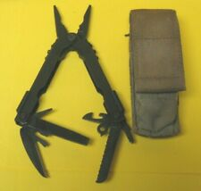 GERBER MP600 BLACK OXIDE MULTI TOOL WITH MILITARY MOLLY POUCH EXCELLENT