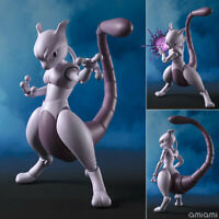 2019 BANDAI S.H.Figuarts Mewtwo Arts Remix Figure Pokemon Go F/S