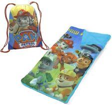 Paw Patrol Sleeping Bag for Boys Girls Kids Travel Sleeping Sack With Cary Bag
