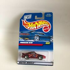 Hot Wheels Mattel Porsche 930 Collector# 856 Red GB9