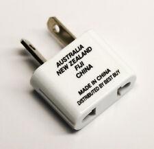 Us to Aus New Zealand Fiji China Ac Power Socket Plug Adapter Travel Converter