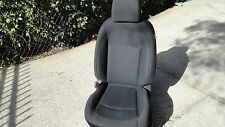NISSAN ROGUE SEAT LEFT DRIVER CLOTH BLACK OEM