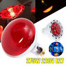 E27 275W Infrared Red Heat Light Therapeutic Therapy Lamp Bulb Pain Relief 220V