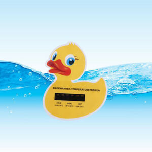 1Pcs Baby Duck Bath Safety Thermometer Baby Toddler Temperature Monitor Floa.bu