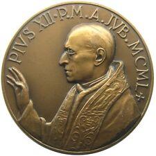 MEDAILLE - Pius XII - 1950 - VATIKAN Heiligen Jahres - bronze UNC gr. 62,05