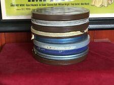 16mm Film Lot of Nine 800ft Metal Cans