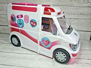 Barbie Ambulance ~ with light and sounds + accessories