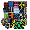 Multi Style Magic Cube Pyramid Speed Z Cube Carbon Fiber Ghost Twist Puzzle Toy